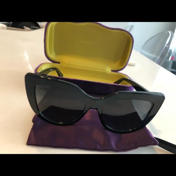 ced119e3e717 Gucci Accessories | Auth Womens Cat Eye Sunglasses Gg0164s | Poshmark